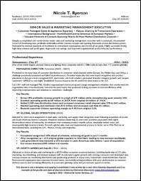 Sample Of Sales Manager Resume by Sales Manager Resume U0026 General Manager Resume
