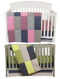 Nursery Boy Bedding Sets by Matching Pink And Green Boy Nursery Bedding Sets For Twins