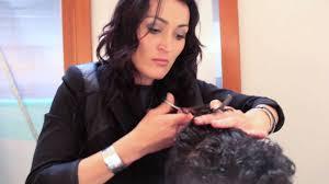 haircuts for curly hair kids step by step men u0027s haircut cutting curly hair youtube