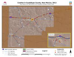 New Mexico County Map 2012 Maps Gps Traffic Research Unit The University Of New Mexico