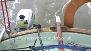 honda bf 2 3 outboard on an 18 foot boat youtube