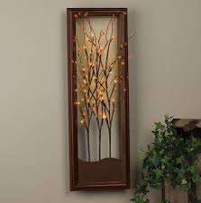 charming decoration lighted wall decor valuable idea lighted wall