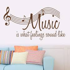 Music Home Decor by Online Get Cheap Musical Note Decoration Aliexpress Com Alibaba