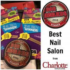 polished named best nail salon by charlotte magazine polished