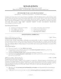 Technical Sales Resume Examples Medical Sales Resume Sample Free Resumes Tips