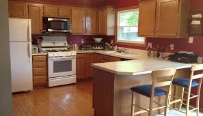 kitchen with oak cabinets paint color ideas exitallergy com