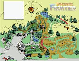 Newport Oregon Map by Florence Oregon Rv And Atv Camping At Sand Dunes Frontier