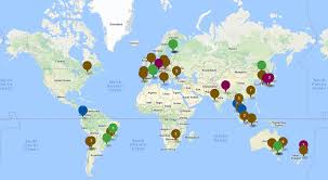 Latam Map Ihg Rewards Club