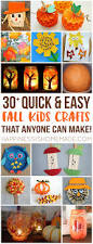 quick easy halloween crafts easy fall kids crafts that anyone can make autumn fall autumn