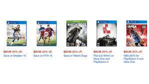 black friday deals on ps4 xbox one and ps4 games are in lightning amazon black friday sale now
