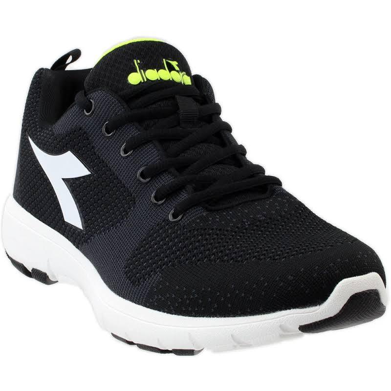 Diadora X RUN LIGHT Running Shoes Black- Mens