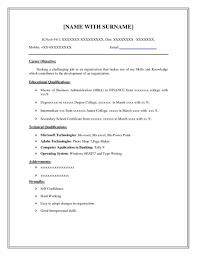 resume format objective blank basic job resume templates cv format job application basic best photos basic resume templates for any template objective statements examples basic job resume templates of