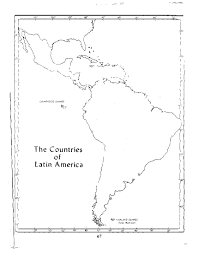 Latin America Political Map by Maps Of Dallas Blank Map Of Latin America