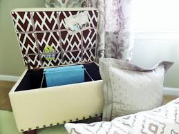 diy file storage ottoman be my guest with denise diy file storage ottoman
