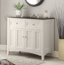 Adelina â Inch Antique White Sink Bathroom Vanity Black - 48 bathroom vanity antique white