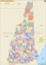 Zip Code Map Nc by New Hampshire Zip Code Map New Hampshire Postal Code