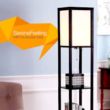 Mood Lighting Bedroom by Brightech Store Maxwell Shelf Floor Lamp U2013 Modern Mood Lighting