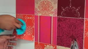 Kitchen Tiles Designs by Kitchen Backsplash With Indian Patchwork Wall Tiles Stickers Youtube