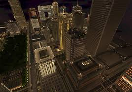 Minecraft New York Map Download by Welcome To Titan City A Recreation Of Nyc In Minecraft Niche Gamer