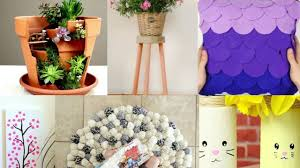 diy home decor 12 easy crafts ideas at home youtube