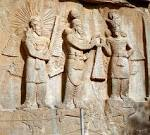 File:Taq-e Bostan - High-relief of Ardeshir II investiture.jpg ...