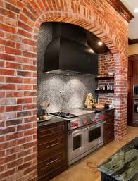 the rustic appeal of brick wall interiors