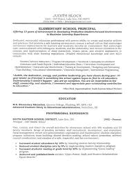 Aaaaeroincus Exciting School Administrator Principals Resume Sample Page With Astounding Administrator Principals Resume Sample Page And Pleasing