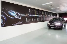 lexus es250 used uae analysing car showroom design by al futtaim interiors design