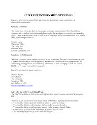 Cover Letter For Biomedical Internship   Free   Resume   Samples