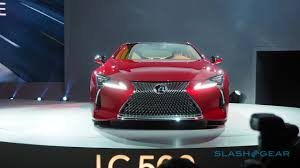 lexus concept cars lexus lc 500 does the impossible concept made real slashgear