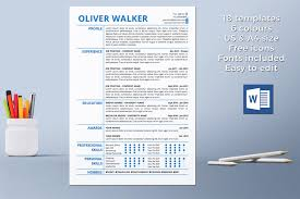 Download Resume Cover Letter Resume Template Instant Download Cv Template Professional