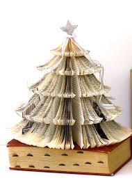 book tree christmas christmas lights decoration