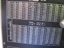 machine id u0027d nardini ms 1440 e metal lathe labeled clausing
