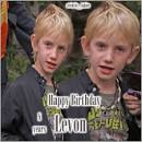 Happy birthday Levon Roan