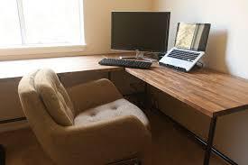 diy ikea butcher block countertops as desk insideways diy