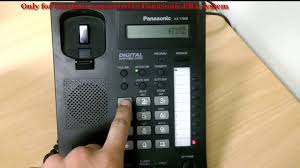 how to set call forwarding on panasonic digital ip handset youtube
