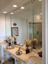 furniture beveled bathroom mirrors frameless beveled mirror