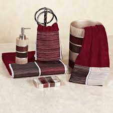 bathroom red and black bathroom decor ideas red and black