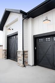 Metal Building Floor Plans For Homes Best 25 Black Garage Doors Ideas On Pinterest Painted Garage