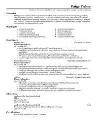 Financial Resume Sample by Advisor Resume Example Simple Resume Template Pdf 31314 Plgsa Org