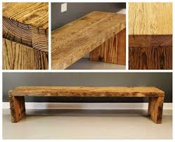 reclaimed wood storage bench furniture decor trend diy