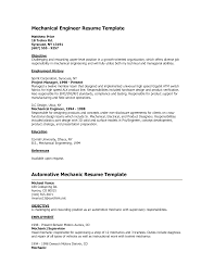 Sample Resume For Mechanical Design Engineer by Mechanical Engineer Objective Resume Free Resume Example And