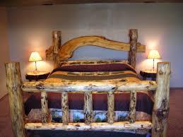 Cedar Bedroom Furniture How To Make A Log Bed Headboard 23 Enchanting Ideas With Cedar Log
