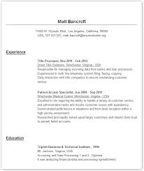 Create Online Resume For Free by Examples Of A Resume Example Resume For Entrepreneur Page 2