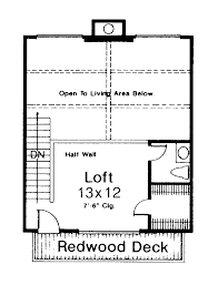 A Frame Cabin Floor Plans With Loft Sturgeon Bay Mountain Cabin Home Plan 036d 0045 House Plans And More