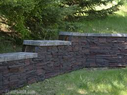 Best Retaining Wall Ideas Images On Pinterest Landscaping - Landscape wall design