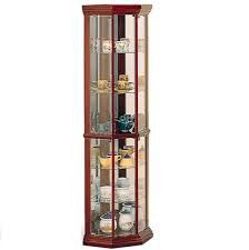 Ikea Glass Shelves by Furniture Silver Finish Corner Curio Cabinet Ikea With Glass