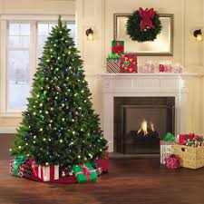 Sears Artificial Christmas Trees Unlit by Exquisite Ideas 7 Christmas Tree Holiday Showtime Northern Lights
