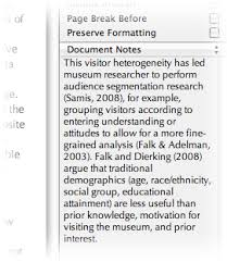 Scrivener     A perfect program for dissertation writing     Document Notes and Project Notes