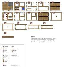 Small Cabin Floor Plans Free 10 Best Minecraft House Blueprints Plans Building Free Neoteric